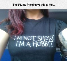 A Shirt For Short People