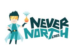 The new Never North Labs logo