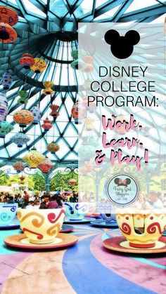 Disney College Program: Work, Learn, and Play! Disney Dorm, Disney Parks, Orlando Disney, Disney Land, Disney Stuff, Disney Cruise Tips, Disney Vacations, Family Vacations, Cruise Vacation