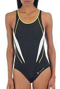 $64 M L XL 10 12 16 18 Dolfin Swimwear Women/'s Color Block Aquatard NAVY PINK