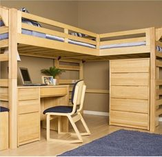 Super Original Loft Bed Plans The Woodworking Plans Site