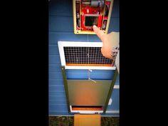 1000 Images About Chicken Coop Door On Pinterest