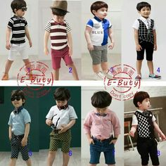 EBUTY10 BOY SERIES SIZE 90-140 FIT TO 2T-7T