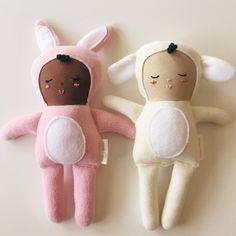 bunny baby and lamb baby - Hickory Juniper