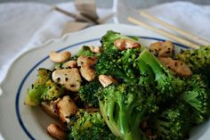 get some coconuts: broccoli all over the place
