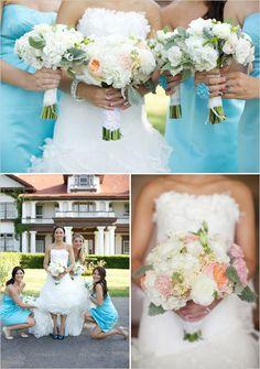 Weisser Brautstrauss | white bouquets