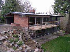 Mid Century Modern Remodel- deck