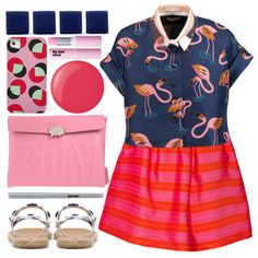 How To Wear love flamingos Outfit Idea 2017 - Fashion Trends Ready To Wear For Plus Size, Curvy Women Over 20, 30, 40, 50