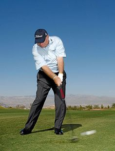 """<p>According to Butch Harmon, a 3-wood should have more than enough loft to launch a ball up into the air. He says, """"A lot of golfers are carrying 13-degree models, which just scream for you to help them get the ball up. When you hit range balls with your 3-wood, tee it up sometimes. You need to get used to the idea that you can hit down on the ball and get plenty of height on the shot. You need to learn to trust the club's loft.""""</p> <p>More: <a href=""""http://www.golfdigest.com/golf..."""