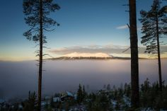 The calming view from the Radisson Blu Trysil Resort in Norway