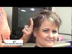 (Ladies Haircut) Hairstyles All the Way From Dallas Texas - YouTube