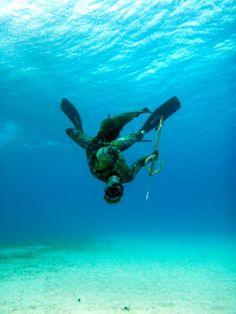 cozumel spearfishing acrobats