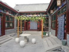 hutong of the wealthier