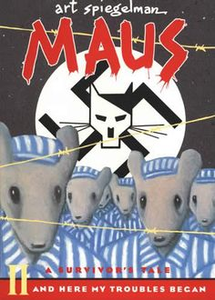 Maus by Art Spiegelman Release Date: August 12, 1986 A story of a Jewish survivor of Hitler's Europe and his son, a cartoonist who tries to come to terms with his father's story and history itself.