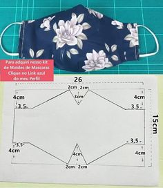 Diy Sewing Projects, Sewing Projects For Beginners, Sewing Hacks, Sewing Tutorials, Sewing Crafts, Diy Crafts, Easy Face Masks, Diy Face Mask, Fashion Sewing