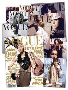 David Sims en 11 couvertures de Vogue Paris