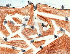 Illustration about Complex ant tunnels created from crayon, pencil, ink and thumb prints. Illustration of background, closeup, fingerprints - 23254619 Ant Art, Ant Colony, Outhouse Decor, Science Crafts, Bugs And Insects, Garden Theme, Stock Foto, Fauna, Art Club