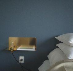 90 Degree Wall Light by Frama cph