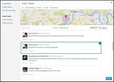 Media Explorer : you can now insert tweets and YouTube videos without ever leaving WordPress
