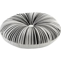"""button-up black-white 16"""" pillow in pillows 