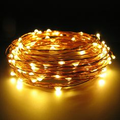 Copper Wire String Lights Perfect To Cozy Up That Little Nook In Your Home