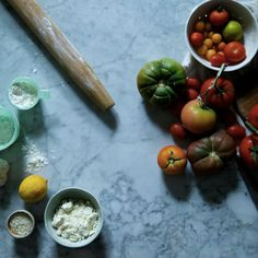 Check out Food & Drink Editor @maggipate's skillet tomato galette with feta recipe!