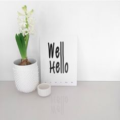 #WELL #HELLO A5 #poster #Livink