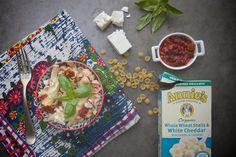 Sundried Tomato Artichoke Mac & Cheese // shutterbean