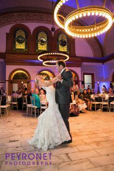 Ashton Depot, Fort Worth - Reception #FortWorthWeddings #Reception #Venue #FirstDance #Bride #Classic