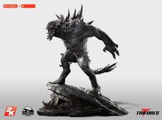 2K Games and Turtle Rock Studios today announced an epic and expensive collector's item (game not included) for the upcoming game, Evolve. The Evolve: Goliath Premiere Scale Statue is 29 inches tall and weighs 35 pounds. It is very much a limited edition, as only 500 will be made.The Savage... http://maxonlinestores.org/?p=6119