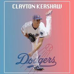 THINK BLUE: #claytonkershaw @dodgers #losangeles #california #westcoast @mlb @mlbnetwork #baseball #graphicdesign #adobephotoshop #sports #edits #creative #artsy  by gmroll