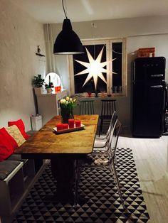 Scandinavian home. Old meets new in the kitchen. Scandinavian Home, New Homes, Kitchen, Cooking, Kitchens, Cuisine, Cucina