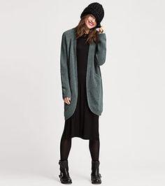 Femme Gilet en maille en turquoise foncé –  prix bas sur la boutique en ligne C&A !