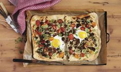 Vegetable Pizza, Vegetables, Food, Ground Meat, Cherry Tomatoes, Leftover Wine, Nutritional Value, Dish, Fried Egg Recipes