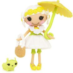Mini Lalaloopsy Doll, Happy Daisy Crown