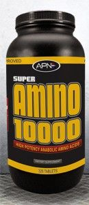 APN Super Amino 10000 is formulated to enhance muscle mass and strength in combination with intense training. http://www.shoppingexpress.pk/super-amino-tab-prod_696403.html