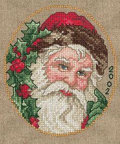 Holly Berry Santa - 2002
