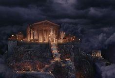 Der Olymp aus Percy Jackson