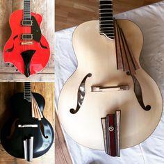 verdinero-guitars The Archtop Family
