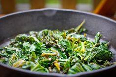 Kale with Apple Cider Vinegar