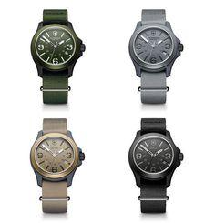 Victorinox Original Swiss Army Watch #watches #swiss army