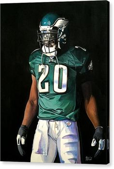 Brian Dawkins Weapon X - Philadelphia Eagles Canvas Print / Canvas Art by Michael Pattison Philadelphia Eagles Wallpaper, Philadelphia Eagles Players, Philadelphia Eagles Merchandise, Philadelphia Sports, Nfl Football Players, Football Art, Football Poses, Football Uniforms, Football Design