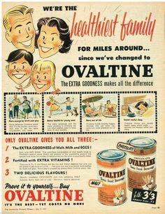 Ovaltine ~ Australia 1957.