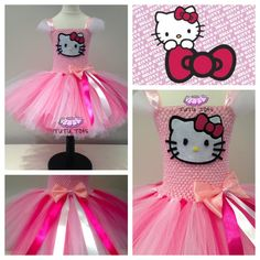 Girls Hello Kitty Tutu Dress