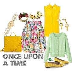 My creation inspired by Once Upon a Time character Mary Margaret Blanchard / Snow White.
