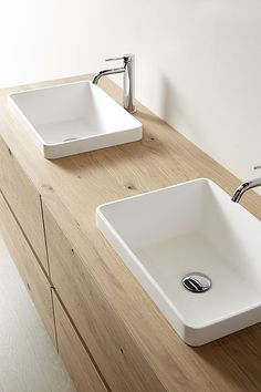 Kube bathroom furniture, simplicity and sophistication Compact Furniture, Space Saving Furniture, Bathroom Furniture, Bathroom Vanity Designs, Bathroom Layout, Bathroom Interior Design, Brown Bathroom, Modern Bathroom, Small Bathroom