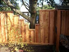 fence to and around tree - Google Search