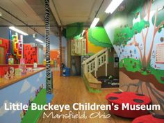 The Little Buckeye Children's Museum in Mansfield, OH.