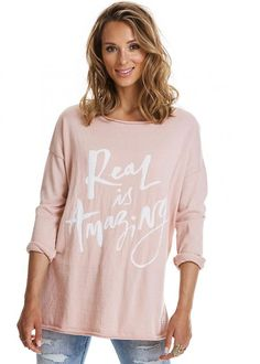 Odd Molly Rosa Sweater 217M-209 Sizzling Sweater - warm powder
