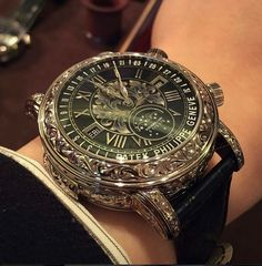 Patek Philippe ~ just beautiful.